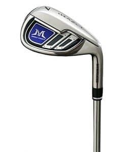 Mazel fer de golf en acier Fer à repasser individuel # 7 pour hommes, 37.5 pouces, droitier (arbre en acier inoxydable, Flex rigide)