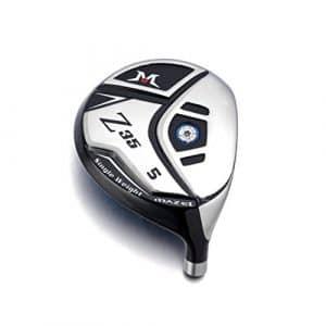 Mazel Golf Bois de parcours 3et 5Tête Tête de club de golf Z35pour hommes, pour droitier, 5-Wood Head(18Degrees)