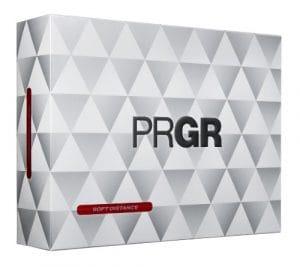 PRGR Doux Distance Balles de Golf, Blanc (Une Douzaine)