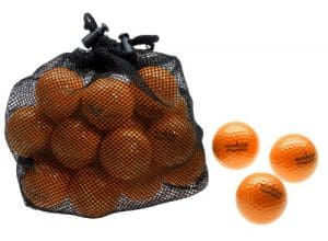 Silverline Champion Filet de 25 balles de golf, Orange