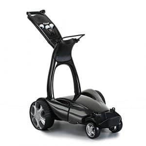 Stewart Golf X9 Remote Voiturette électrique Noir Métal