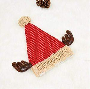 STZHIJIA Chapeau De Noël Nouvel an Unisexe Modélisation Bois Cadeaux Produit Créatif Un