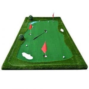 Tapis de Golf Golf Putt Practice Mat Fairway Couverture d'exercices intérieur/extérieur Long 3.5m / 5m (Taille : 5m)