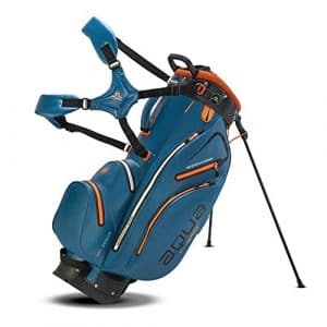 BIG MAX AQUA Hybrid Golf Standbag – 100% Wasserdicht-Blau