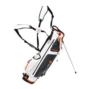 BIG MAX Dri Lite 7 Standbag -White/Charcoal/Orange