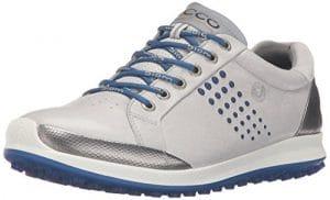 Ecco 1515, Chaussures de Golf Homme – Gris – Gris (59015CONCRETE/ROYAL), 42 EU