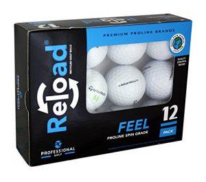 Generic Reload recyclé de balles de Golf (Lot de 12) de Taylormade Balles de Golf