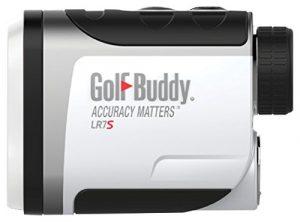 GolfBuddy Lr7s Compact et Facile à Utiliser Télémètre Laser Slope Fonction Fonction on/Off, Blanc/Noir, Petit