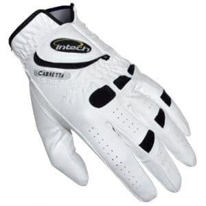 Intech Six-pack Ti-cabretta Gant pour homme, Homme, I63627, White w/Black trim, grand