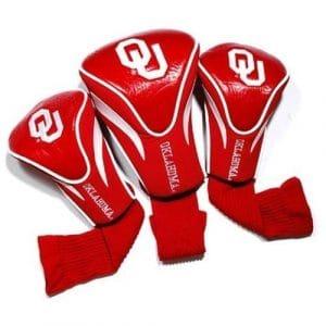 NCAA Oklahoma Sooners Lot de 3Contour Couvre-fer en forme de club de golf