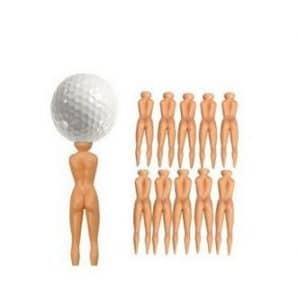 Nordvpn 10pcs Dames Nues golfeurs Balle Tees Divot Outils nouveauté Cadeau – 76mm