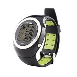 POSMA GT2 Montre de Sport GPS Golfeur / Golf d'entraînement Télémètre / Préchargé Terrains Europe, États-Unis, Canada, Australie, Nouvelle-Zélande, Asie Sans Téléchargement (Noir)