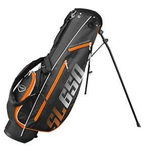 SL650 Masters Golf 6.5 Pouce Support Sac – Noir/Orange