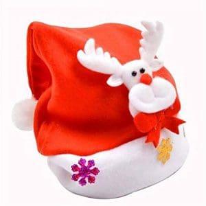STZHIJIA Le Renne De Noël Bonhomme De Neige Chapeau Unisexe Modélisation Nouvelle Année Cadeaux Produits Créatifs C