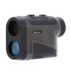 Télémètre de golf – Portée: 1800 mètres, télémètre laser compatible Bluetooth avec hauteur, angle, mesure de distance horizontale Parfait pour la chasse, le golf, le sondage technique