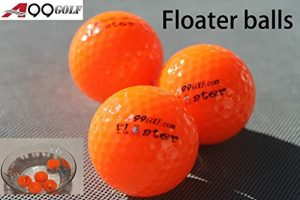 A99 Golf-Balle flottante à 3 Floater flotteur de gamme Orange