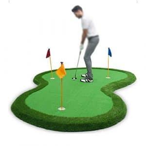ADDS Pratique Vert Simulé De Putter, Tapis De Balle De Pratique De Golf D'intérieur (2.5 * 3.5m)