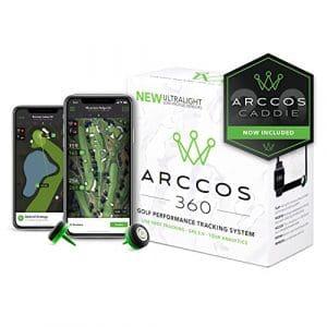 Arccos Golf Arccos 360Golf Performance du système de Suivi, Mixte, 360, Noir/Vert