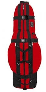 Club Glove Last Bag Travelbag Red – Sac de voyage roulante golf couleur rouge