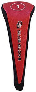 Gant de club de golf # 1tête de pilote Coque, Red