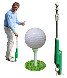 GDGOLF FaciliTee, Cadeau idéal pour Le Golfeur – Positionneur Automatique du Tee et de la Balle de Golf – Un ClipBalls Offert pour Tout achat.