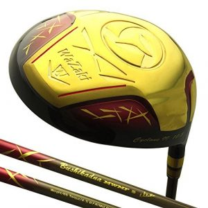 Generic Japon Wazaki Finition Or Cyclone II Driver Club de Golf Couvre-Fer + (10.5 degré Loft, Close Face Angle, pour droitier, Pro Regular Flex, 260 CPM)