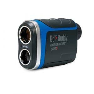GolfBuddy Lr5s Golf Télémètre Laser avec Pente, Gris foncé/Bleu