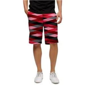 Loumouth Golf Men's Fore Shades of Red Shorts (38)