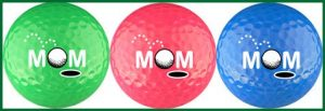 Mom w/ Optic Colors Golf Ball Gift Set