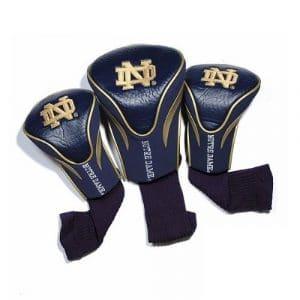 NCAA Lot de 3couvertures de tête de contour, mixte Enfant Homme, teamgolf-Parent, Notre Dame Fighting Irish, taille unique