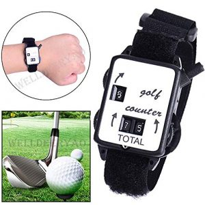 Sellify NPLE – Mini Golf Wristband Stroke Score Contre Gardien Regarder Putt Tir Portable Scorer
