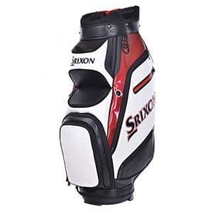 Srixon Tour Cart Bag WHT/RD/Blk