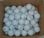 Assortiment de 144Balles de golf dans notre Qualité AAA Notre seconde meilleure qualité. Une Excellente Boule pour le Noël au lecteur de moyenne.