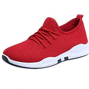 CIELLTE Chaussures Baskets Femme de Running Sneakers Fitness Gym Sports Chaussures Plates Trail Entraînement Mixte Adulte Athlétique