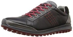 ECCO 1515, Chaussures de Golf Homme 41 Schwarz (50612BLACK/BRICK)