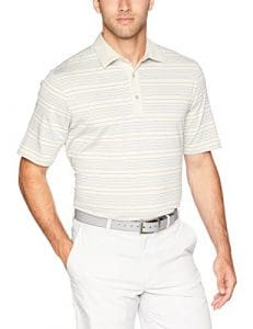 Greg Norman Bayhead Polo Manches Courtes Homme, Sable, Petit