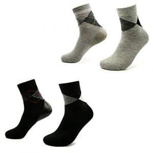 LJXiioo Chaussettes de Spa Spa hydratantes pour Chaussettes de récupération de la Peau craquelée et Dure pour Hommes (2 Paires)