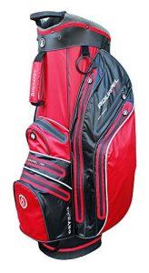 Masters Golf – iCart Aquapel 100 Waterproof 14 Way Trolley Bag Red/Black
