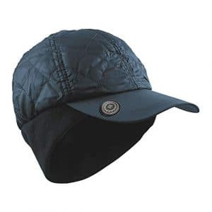 Surprizeshop Ladies Golf Winter Cap with Ball Marker Navy. Taille Unique