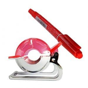 WINOMO Balle de golf Liner marqueur Modèle Dessin Marque Outil d'alignement Putting avec machine à bille (Rouge)