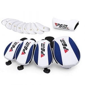 Couvre-tête de Club de Golf PGM, Couvre-tête de Fer, s'adapte au conducteur et au Fer de Golf/Bois/Putter,setof13pcs