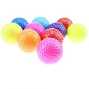 crestgolf assortis couleur de balle de golf, 10sortes de couleurs pour votre choix, Lot de 20 Couleurs mixtes