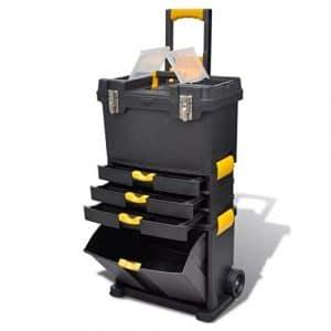 Generic Box Boîte de Rangement pour Coffre à Jouets et Chariot Organisateur Portable Commode Organisateur Maison