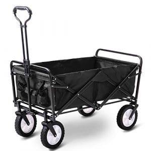 Generic Chariot de Jardin Pliable pour Chariot de Transport Portable Couleur aléatoire