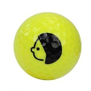 HATCHMATIC Remplacement Balles de Golf débutants Pract Driving Range Training Aid Double Couche en Caoutchouc: Jaune