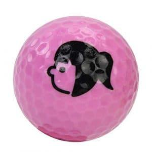 HATCHMATIC Remplacement Balles de Golf débutants Pract Driving Range Training Aid Double Rubber Layer: Rose