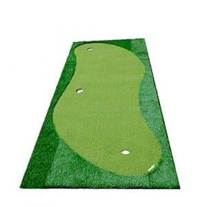 Havanadd-Sports Vert Fond en Caoutchouc de Simulation de Golf intérieur/extérieur Vert Putter Artificiel intérieur Vert Practice Vert de Golf Put Green System Pratique Professionnelle Tapis Vert