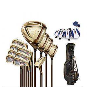 Heiner Golf Club Set R-Classe Carbon Metal Club Set De Golf Professionnel à Angle Ajustable Arbre Remplaçable Ensemble De Cannes Ultra-légères
