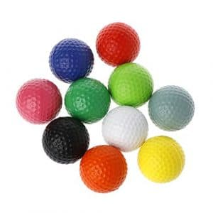 Longsw 1pièce Professional Practise Balles de Golf Bien sûr Jouer Jouet d'entraînement intérieur extérieur