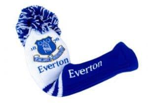 Premier Licensing Everton FC Pompom Driver Capuchon pour driver avec pompon